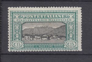 J28490, 1923 italy mh #166,168 views 2 scans