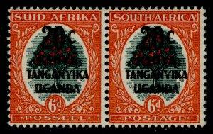 KENYA UGANDA TANGANYIKA GVI SG153, 20c on 6d green & vermilion, M MINT.