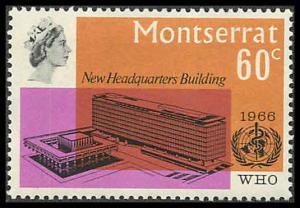 Montserrat 185 Mint VF NH