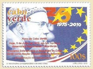 Cape Verde - Independence on Stamps -  Stamp  - 3J-007