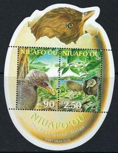 2002 Niuafo'ou 397-398/B34 Birds 6,00 €