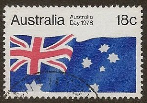Australia Scott # 671 used. Free Shipping for All Additional Items