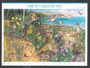 USA #4352 MNH Great Lakes Dunes 2008 Scott CV$21.00
