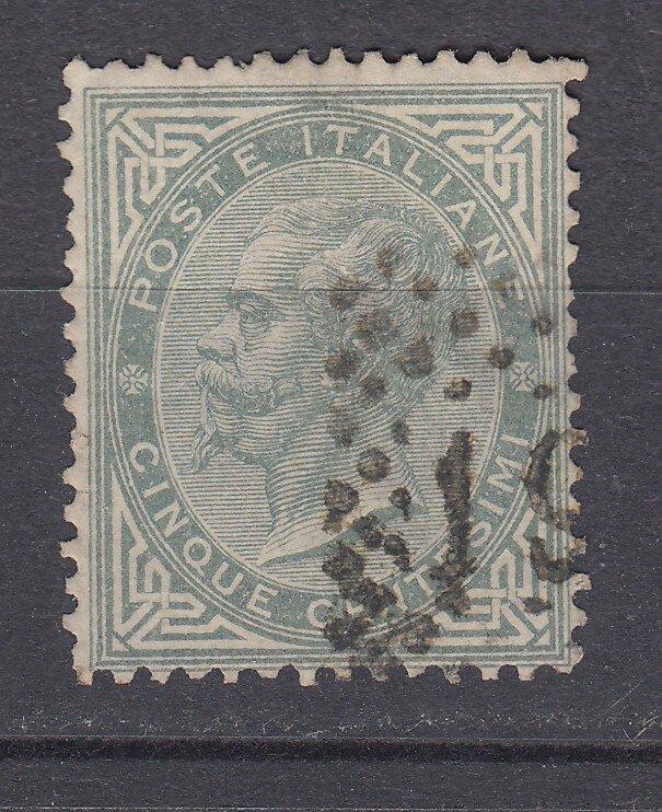 J29648, 1863-77 italy used #26 king