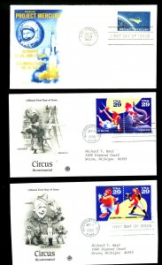 U.S. #1193, 2753 FIRST DAY COVERS