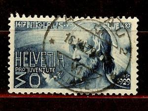 Switzerland, Scott #B52, 30c von der Flue Issue, F-VF, Used