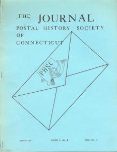 The Journal: Postal History Society of Connecticut, Winte...