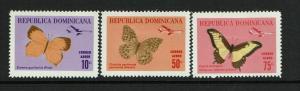 Dominican Republic SC# C146 - C148 Mint Light Hinged - S7591