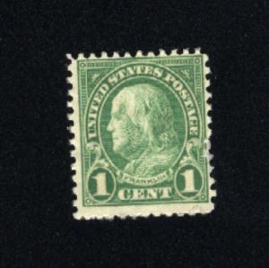USA #552 used 1922-25 PD .08