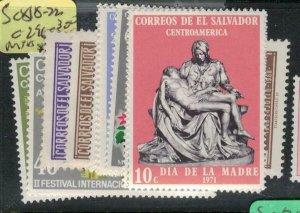El Salvador SC 818-22, C296-300 MNH (7ecq)