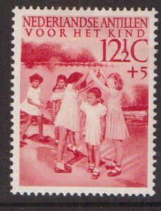 Netherlands Antilles  #B13  MH   1951   child welfare  12 1/2c