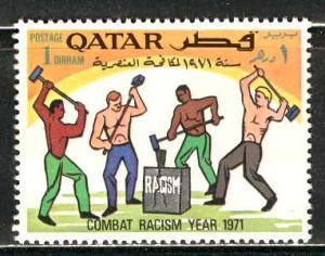 Qatar; 1971: Sc. # 259: */MH: Single Stamp