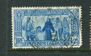 Italy #262 Used