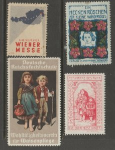 Europe mostly mint Cinderella stamp- Free Shipping- great prices 4-23b-11