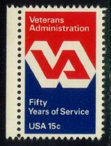 US #1825 Veterans Administration, MNH (0.30)