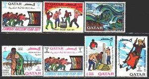 Qatar. 1971. 467-73. Combating racism. MVLH.