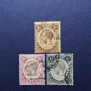 Jamaica 65, 67-8 F-VF, CV $4.75