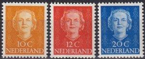 Netherlands #308-9  F-VF Unused CV $5.50 (Z8143)