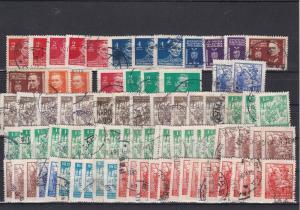Yugoslavia 1945 Partisans Stamps Ref 31162