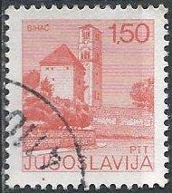 Yugoslavia 1247 (used) 1.50d church, Bihac (1976)