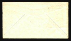 US SC# 858 FDC / IOOR Dark Purple Cachet / Bismark - Z20327