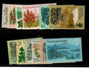 Tristan da Cunha Scott 162-73 Mint NH (Catalog Value $27.00)