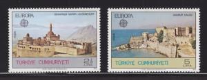 Turkey Sc 2091-2092 MNH. 1978 EUROPA cplt, VF
