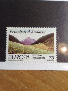 Andorra  (Spanish)  # 257  MNH