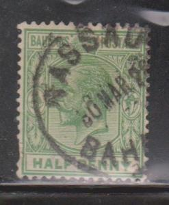 BAHAMAS Scott # 70 Used - KGV