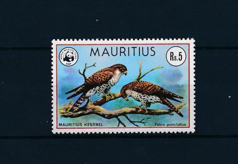 [53559] Mauritius 1978 Birds Vögel Oiseaux Ucelli WWF Falcon from set MNH