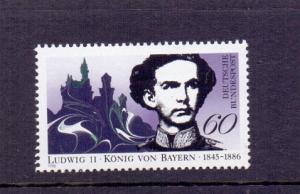 Germany  Berlin 1986  MNH King Ludwig II von Bayern