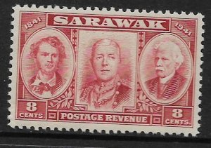 SARAWAK 155 MNH THE BROOKE BOYS ISSUE 1946