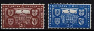 Ireland - Sc139-140 In recognition of the Republic mint - CV $10.50
