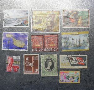 MALTA  Stamps  stock page 7c       ~~L@@K~~