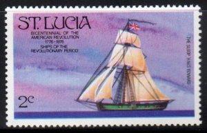 St. Lucia Scott No. 381