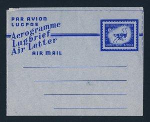 SOUTH WEST AFRICA Aerogramme Postal Stationary MINT