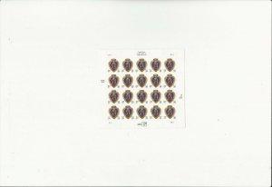 US Stamps/Postage/Sheets Sc #4032 Purple Heart MNH F-VF OG FV 7.80