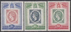St. Lucia 176-178 MNH CV $0.85