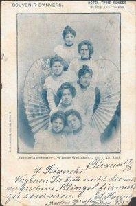 MALTA 1902 postcard ex German PO Smyrna - scarce 2d postage due mark........5401