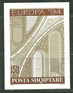 Albania MNH S/S 2454 Europa 1994 SCV 5.75