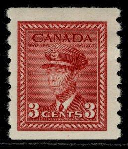 CANADA GVI SG391, 3c carmine-lake, M MINT.