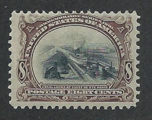 298 MNH, 8c. Pan-American, scv: $250