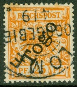 EDW1949SELL : TOGO 1897 Scott #5 Very Fine, Used. Catalog $60.00.