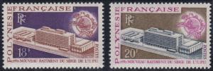 French Polynesia 261-262 MNH (1970)