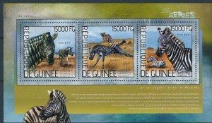[1598] Guinea 2014 Fauna good Sheet very fine MNH