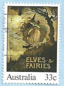 Australia #960A 33c Elves & Fairies