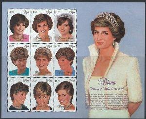Nevis Scott 1-30 MNH!  Princess Diana