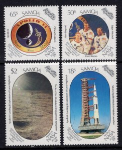 Samoa 760-763 Space MNH VF