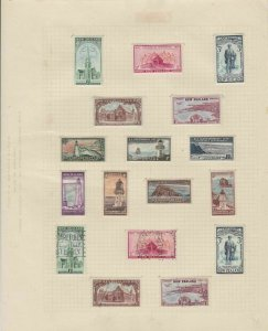 new zealand stamps page  ref 18886