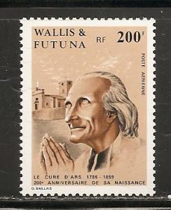 Wallis and Futuna Islands C147 1986 Cure of Ars single MNH